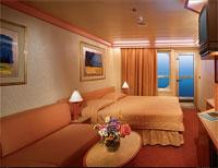cuarto con balcon